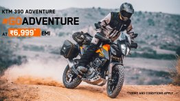 KTM 390 Adventure available at special finance schemes & exchange offer