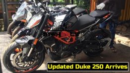 2020 KTM 250 Duke with 390 Duke's LED headlight spotted - Report