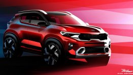 Kia Sonet Official Images Revealed Ahead Of Global Premiere On August 7