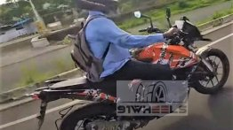 KTM 250 Adventure spotted testing in India, could launch soon