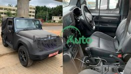 All-New Mahindra Thar Spied Before Its Official Unveil On August 15