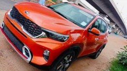 Upcoming Kia Sonet Spotted Without Camouflage In Bright Sunlight; Looks Gorgeous