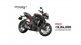 2020 Triumph Street Triple R launched in India, costs INR 8.84 lakh