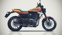 Harley-Davidson HD350 based on Benelli 302S/QJ350 imagined - IAB Rendering