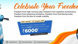 "Hero Electric announces ""Celebrate Your Freedom"" offer with benefits up to INR 6K"