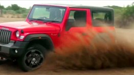 New Mahindra Thar key features & off-road prowess highlighted in a video