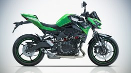 Kawasaki Ninja ZX-25R-based naked Z25R imagined - IAB rendering