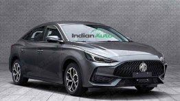 2021 MG5 Sedan Pictures Leaked, Will Rival Honda Civic