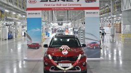 First Kia Sonet rolls out from the company's Anantapur plant