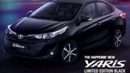 Toyota Yaris Black Edition Teased, Looks Sportier Than Standard Model