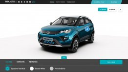 Experience Tata Nexon EV in 3D on the company's official website
