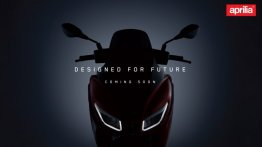 Aprilia SXR 160 teaser image released, India launch soon