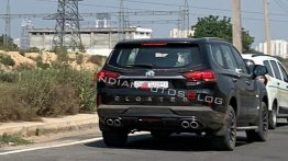 MG Gloster spied sans camouflage in Gurugram ahead of launch