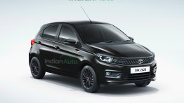 Here's How Tata Tiago Dark Edition Could Look Like, Rendered