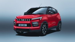 Next-Gen Mahindra KUV100 Rendered, Could It Be the XUV100?