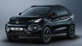 Tata Nexon Dark Edition Rendered; Say Hello to the Meanest Compact SUV in India