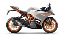 KTM RC 390 gets a new colour option called Metallic Silver