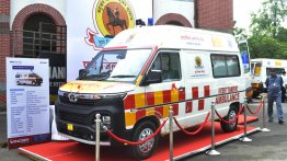 Multiple Tata Winger Ambulances delivered to Zila Parishad of Pune