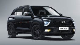 Hyundai Creta Black Edition Rendered, Looks Like a Sinister SUV