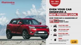 Mahindra Announces M-Plus Body and Paint Clinic Service Camp