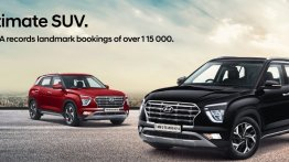 2020 Hyundai Creta bookings surpass 1.15 lakh since its launch in March