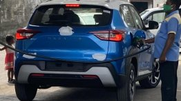 Upcoming Nissan Magnite compact SUV spied, reveals rear-end details