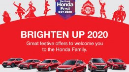 Honda cars available at several exciting offers under The Great Honda Fest