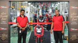 TVS Apache series surpasses 4 million global sales milestone