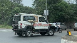 BS6 Force Gurkha (Mahindra Thar rival) spied testing ahead of launch