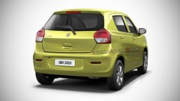 Here's How The Next-Gen Maruti Celerio Could Look Like - IAB Rendering