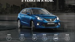 Maruti Suzuki Baleno surpasses 8 lakh sales milestone in 5 years