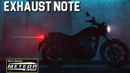 Upcoming Royal Enfield Meteor 350 exhaust note previewed in new video