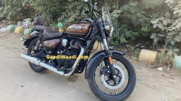 Latest Royal Enfield Meteor 350 pictures reveal the retail model