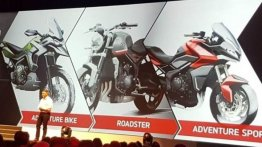 2021 Trident 660-based two new Triumph bikes could be in the pipeline