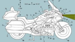 Honda Goldwing to have radar-based adaptive cruise control - Report