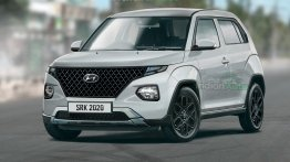 Tata HBX Rival Hyundai AX1 Digitally Rendered, Brand's Smallest SUV Yet
