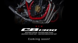 New Honda CB1300 series teased, will have 4 models, global reveal soon