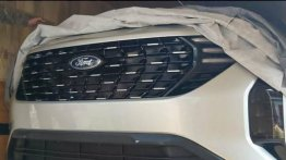 Mahindra XUV500-Based Ford SUV Spotted For the First Time!