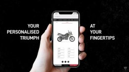 New Triumph Configurator for online motorcycle customisation launched