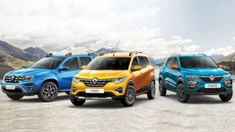 Renault Offering Benefits of Upto INR 65,000 on Duster, Kwid And Triber