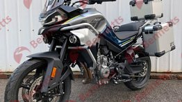 2021 CFMoto 800MT with alloy wheels revealed via leaked images