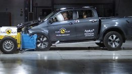 Isuzu D-Max Scores Full 5-Star Safety Rating in Euro NCAP Crash Test