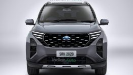 Upcoming Ford C-SUV for India Rendered Based On Recent Spy Shots