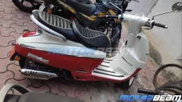 Retro-styled scooter, Peugeot Django 125 spied in India for the first time