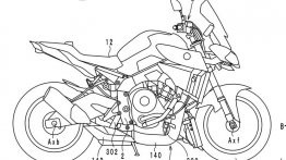 Patents reveal that development of turbocharged Yamaha bike is advancing
