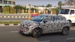 Renault Kiger Spied Testing In Close-To-Production Guise