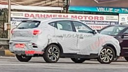 Petrol-Powered MG ZS SUV Spotted Testing Once Again; Launch In Early 2021