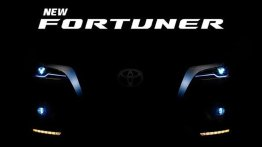 Toyota Fortuner Facelift Teased Ahead Of Launch on January 6, 2021