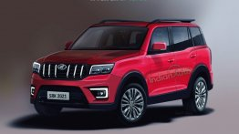 Next-Gen Mahindra Scorpio Rendered Based On Latest Spy Shots