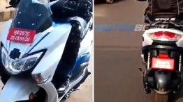 New Suzuki Burgman Electric spy video reveals new features of the E2W
